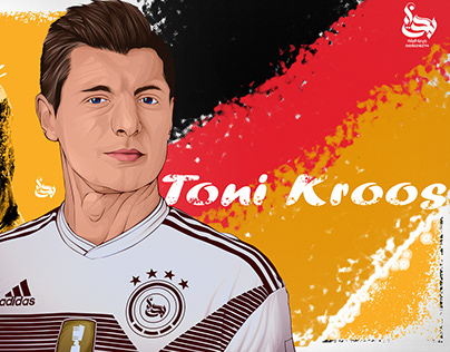 TONI KROOS Vector art