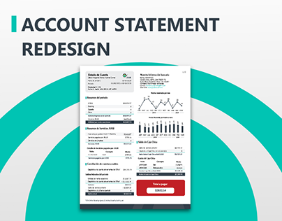 JUUB - Account statement redesign