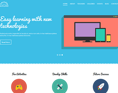 KidsLand Educational Html5 Template