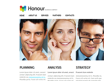 Business Honour Joomla Template