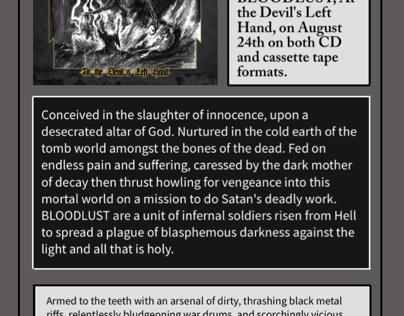 Bloodlust album preview