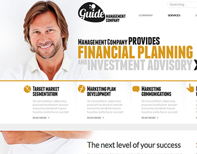 Financial Plan Joomla Template