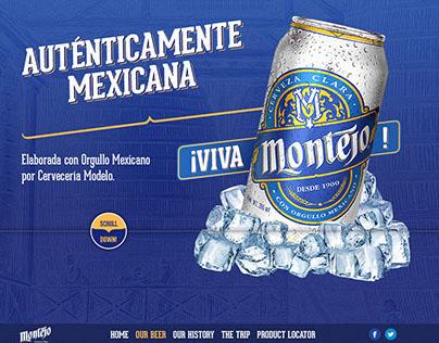 Cerveza Montejo Website