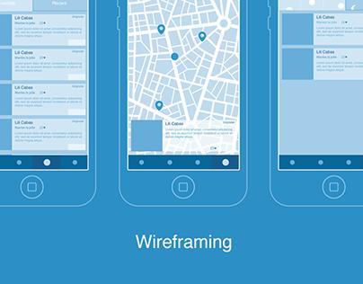 Mobile App Wireframing