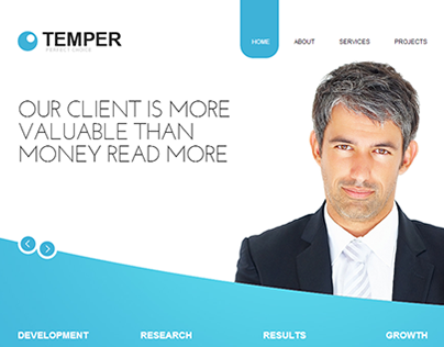 Temporary Business Joomla Template