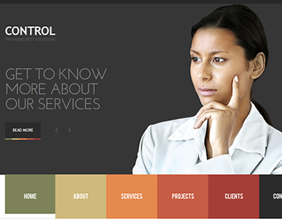 Business Control Joomla Template