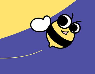 Baby Babble Bee Branding and UI Design