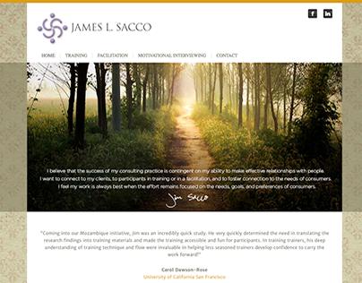 James Sacco - Custom WordPress Child Theme