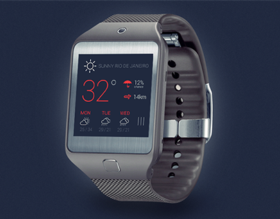 Samsung Galaxy Gear 2 Concept Interface [WIP]