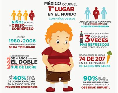 Obesidad Infantil on Behance