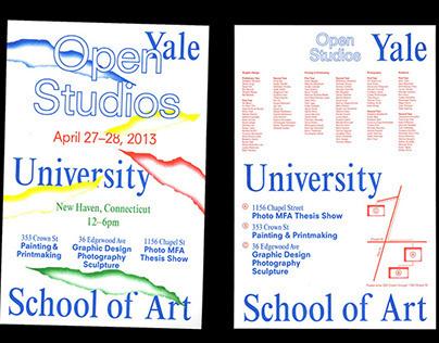 Open Studios 2013 Identity