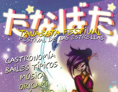 POSTER I Festival de Tanabata 2013