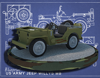 US Army Jeep - Willys MB