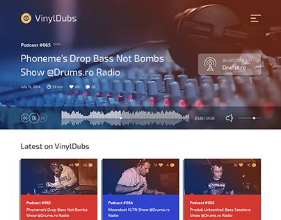 VinylDubs Landing Page