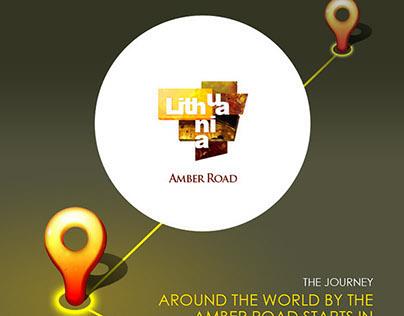 World Amber Road. Representative responsive website
