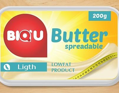 Design for product range of BIQ`U butter