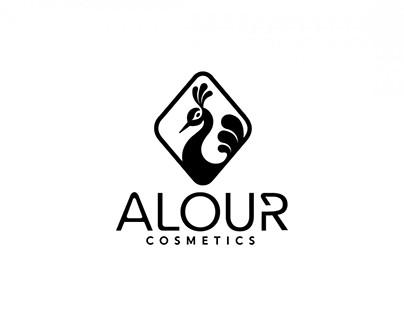 Upscale cosmetic brand logo