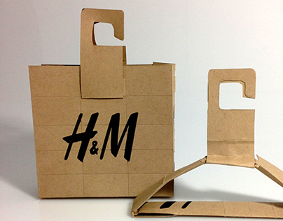 H&M Sustainable Retail Packaging