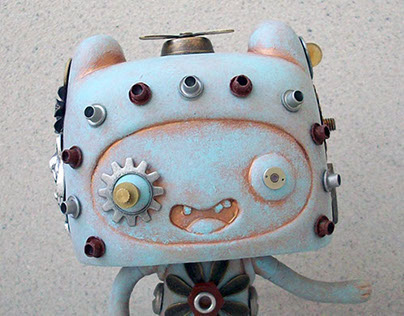 Steampunk Adventure Time Critters