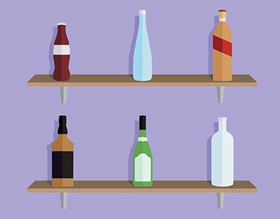 Icon Set - Bottles