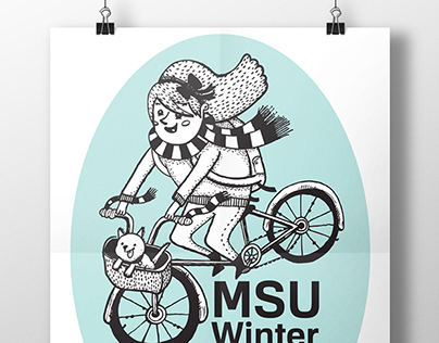 MSU Winter Sessions- Poster Design
