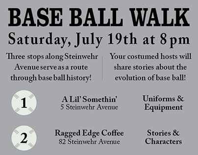 2014 Base Ball Walk