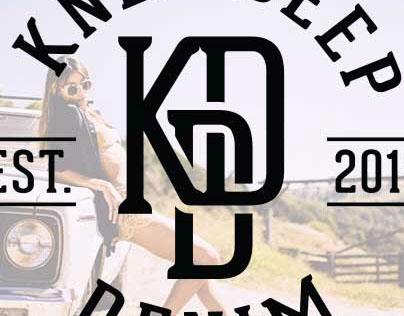 Branding for Knee Deep Denim