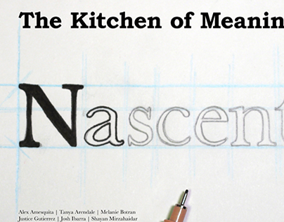 The Kitchen of Meaning Poster