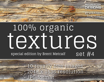 #PackADay 7/24/14 Organic Textures Set 4