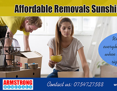 Affordable Removals Sunshine Coast | Call - 0754727588