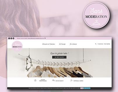 Sans Modération - boutique en ligne