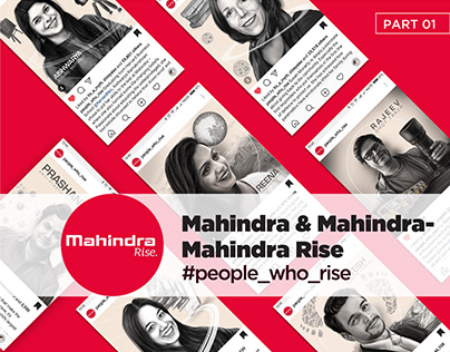 Work for DDB Mudra -Mahindra Rise - Illustrations