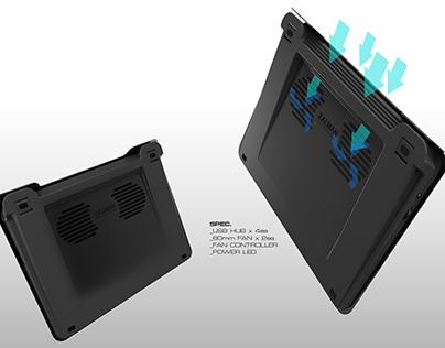 NC-200 mk2 Laptop Cooling Pad for Zalman