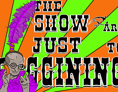 The Show Are Just To Beggining - Projeto Vetorial