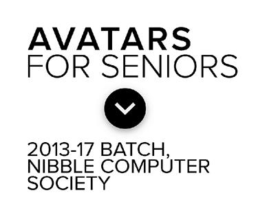 Avatars for Seniors   Nibble Computer Society