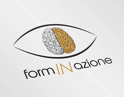 Realizzazione e studio del logo formINazione 👀