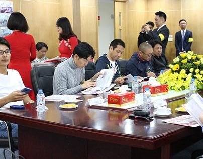 Họp với đối tác Nhật Bản tại TTC Việt Nam