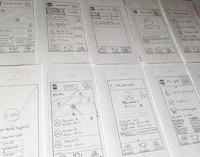 Projet DuOLunch, Appli mobile pause déjeuner