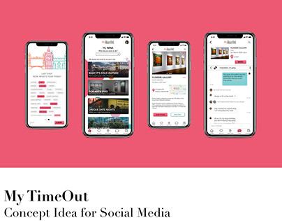 Social Media Concept Idea for General Assembly