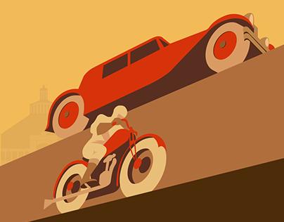 Vintage Posters Motion Design
