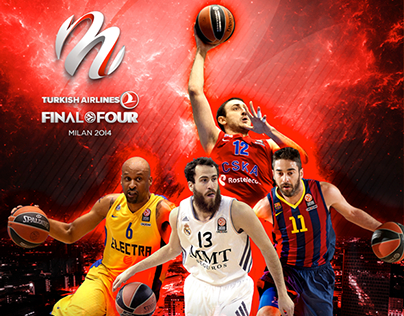 Official Programme Euroleague Final Four Milano 2014