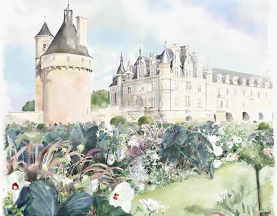 Catherine de Medicis - Chateau de Chenonceau