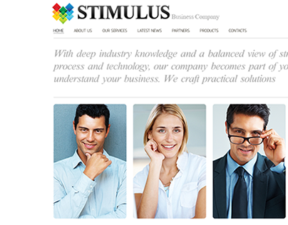 Business Stimul Joomla Template