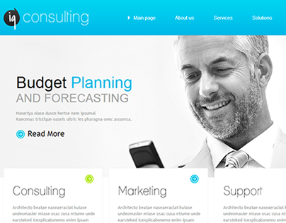 Individual Solutions Joomla Template