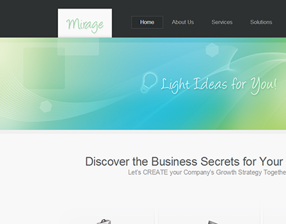 Business Mirage Joomla Template