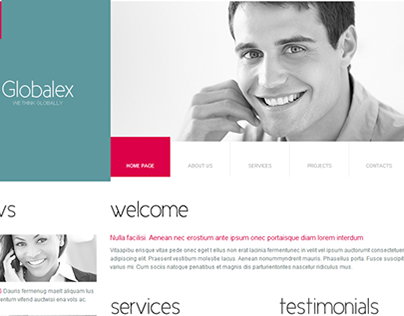 Global Business Joomla Template