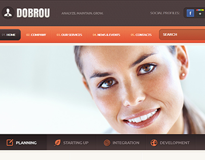 Perfect Choice Joomla Template