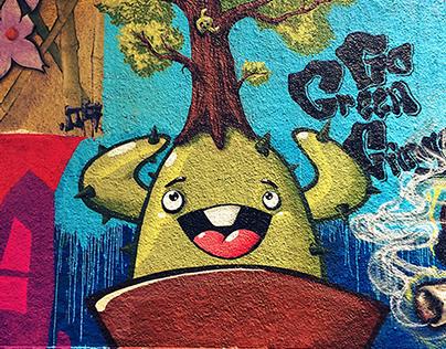 CactusClan Graffiti