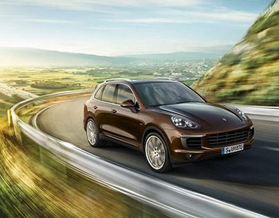 Porsche Cayenne Diesel - CGI & Retouching