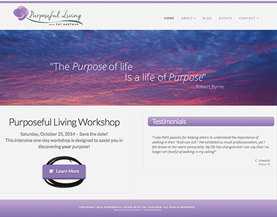 Purposeful Living with Pat Hartman - Image Branding